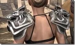 Vykosa Pauldrons - Female Rear