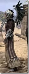 Welkynar Ancestor Silk - Male Robe Side