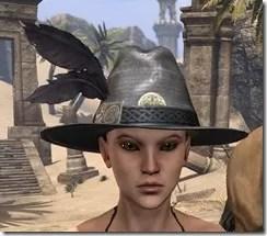 Werewolf Hunter Hat - Female Front