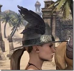 Werewolf Hunter Hat - Female Side
