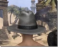 Werewolf Hunter Hat - Male Rear