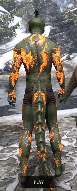 Eso Fashion Amber Plasm Skin Daub Elder Scrolls Online