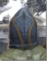 Colovian Filigreed Hood Argonian Rear