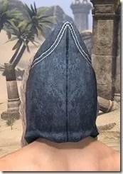Colovian Fur Hood Male Rear