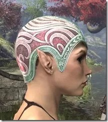 Psijic Skullcap Dyed Side