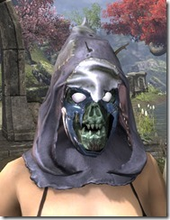 Scarecrow Spectre Mask - Dyed Front