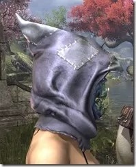 Scarecrow Spectre Mask - Dyed Side