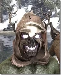 Thicketman Spectre Mask - Argonian Front