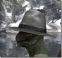 Werewolf Hunter Hat - Argonian Side