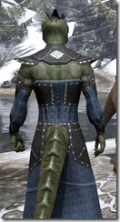 Ancestral Homage Formal Gown - Argonian Male Close Rear