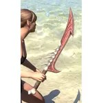 Dead-Water Rubedite Sword
