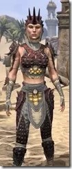 Dead-Water Rubedo Leather - Female Close Front