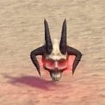 Decorative Hollowjack Daedra-Skull