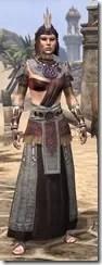 Elder Argonian Ancestor Silk - Female Robe Front