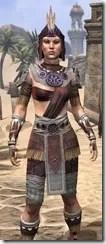 Elder Argonian Ancestor Silk - Female Shirt Close Front