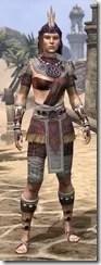 Elder Argonian Ancestor Silk - Female Shirt Front