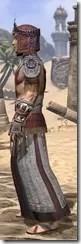Elder Argonian Ancestor Silk - Male Robe Side