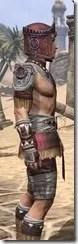 Elder Argonian Ancestor Silk - Male Shirt Close Side