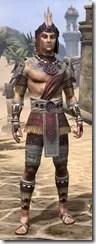 Elder Argonian Ancestor Silk - Male Shirt Front