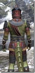 Elder Argonian - Argonian Male Shirt Close Rear