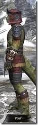 Elder Argonian - Argonian Male Shirt Side