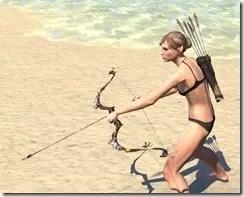 Elder Argonian Bow 2
