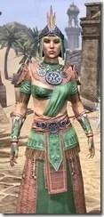 Elder Argonian - Dyed Robe Close Front