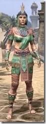 Elder Argonian - Dyed Shirt Front