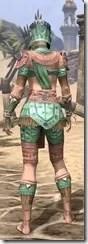 Elder Argonian - Dyed Shirt Rear