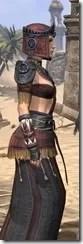Elder Argonian - Female Robe Close Side