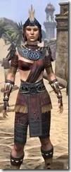 Elder Argonian - Female Shirt Close Front