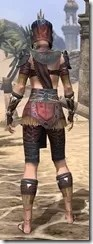 Elder Argonian - Female Shirt Rear
