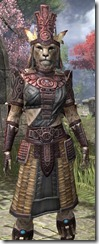 Elder Argonian Heavy - Khajiit Female Close Front