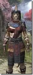 Elder Argonian - Khajiit Female Shirt Close Front
