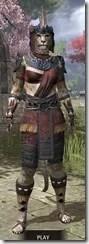Elder Argonian - Khajiit Female Shirt Front
