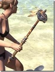 Elder Argonian Mace 2