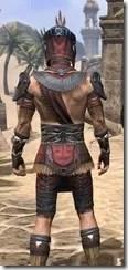 Elder Argonian - Male Shirt Close Rear