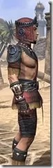 Elder Argonian - Male Shirt Close Side