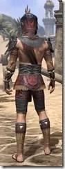 Elder Argonian - Male Shirt Rear