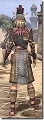 Elder Argonian Rubedite - Female Rear