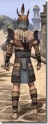 Elder Argonian Rubedo Leather - Male Rear