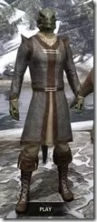 Forge-Wife's Impervious Frock Argonian Male Front