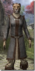 Forge-Wife's Impervious Frock Khajiit Female Close Front