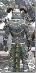 Huntsman Iron - Argonian Male Close Rear