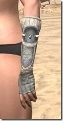 Huntsman Iron Gauntlets - Female Side
