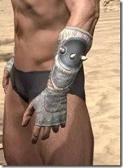 Huntsman Iron Gauntlets - Male Side