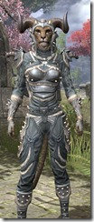 Huntsman Iron - Khajiit Female Close Front
