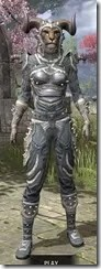 Huntsman Iron - Khajiit Female Front