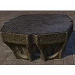 Psijic Table, Scalloped