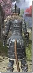 Silver Dawn Iron - Khajiit Female Close Rear